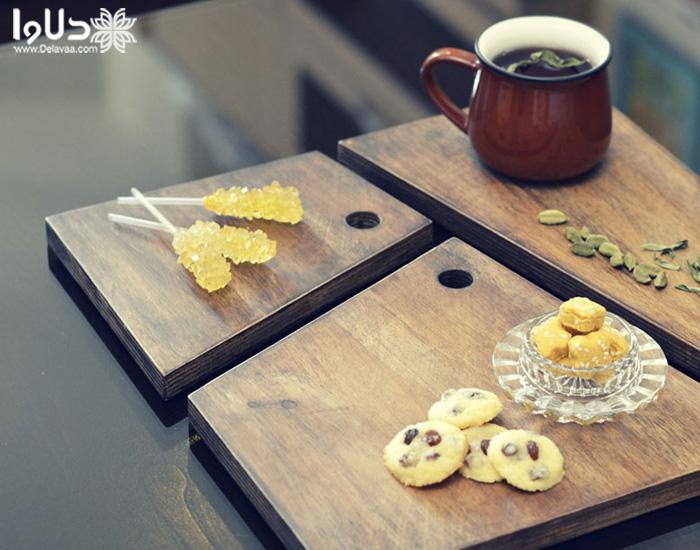 استفاده از ظروف چوبی و بامبو