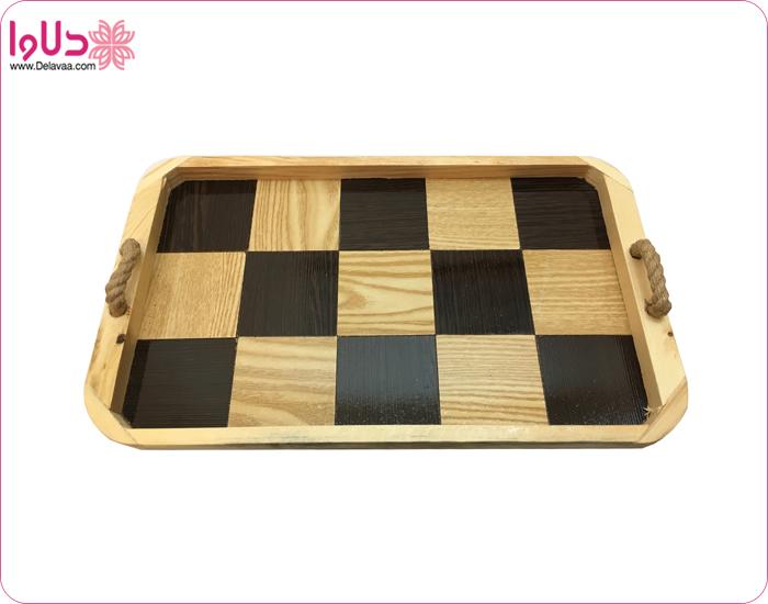 سینی چوبی جدید آرونی مدل آتوسا