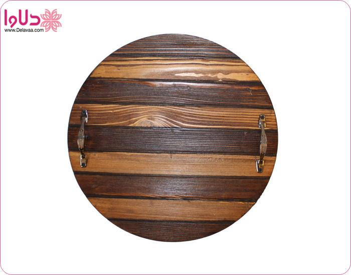 سینی چوبی گرد مدل 003
