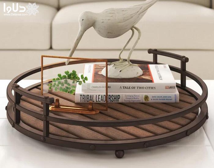 جدیدترین مدل های سینی چوبی