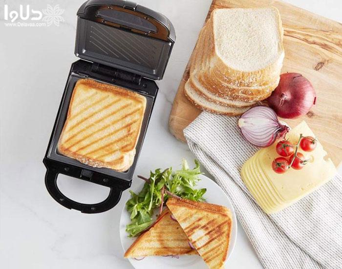 با ساندویچ ساز چی بپزم