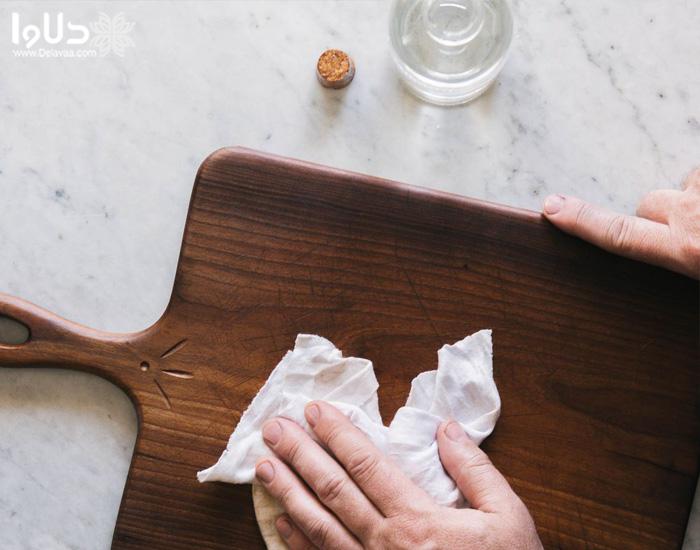 نگهداری از ظروف چوبی