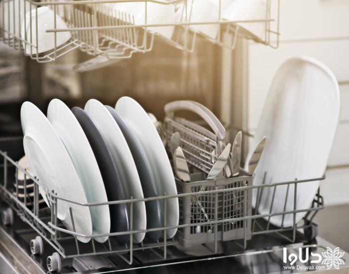بررسی قفسه های ماشین ظرفشویی