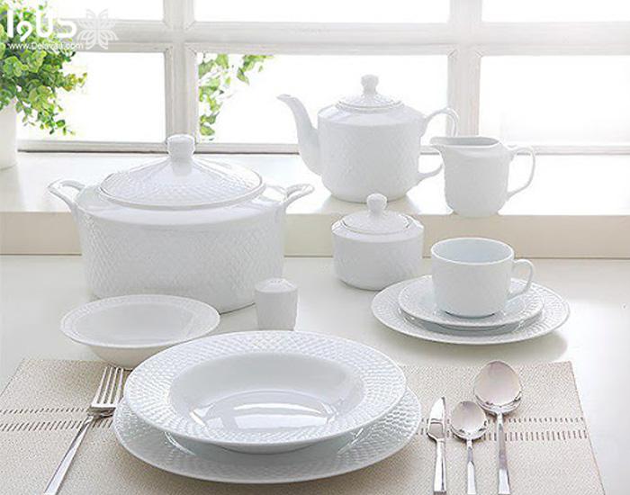 میزان سفیدی و شفافیت ظروف چینی