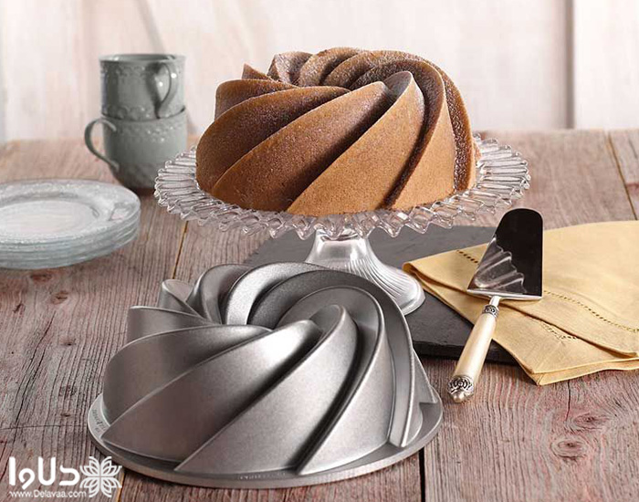 پخت کیک در توستر و آون توستر