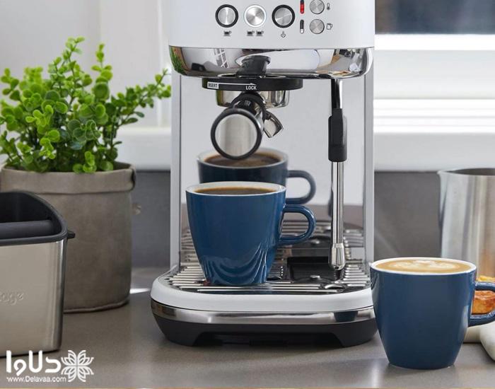 وجود سیستم قطع کن خودکار و سیستم ضد چکه در قهوه ساز