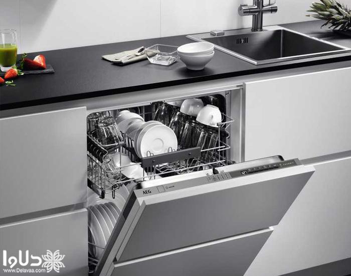 ابعاد ماشین ظرفشویی