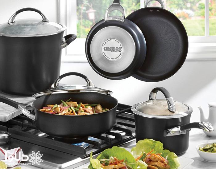 پخت غذا درون قابلمه و تابه چدن چگونه است