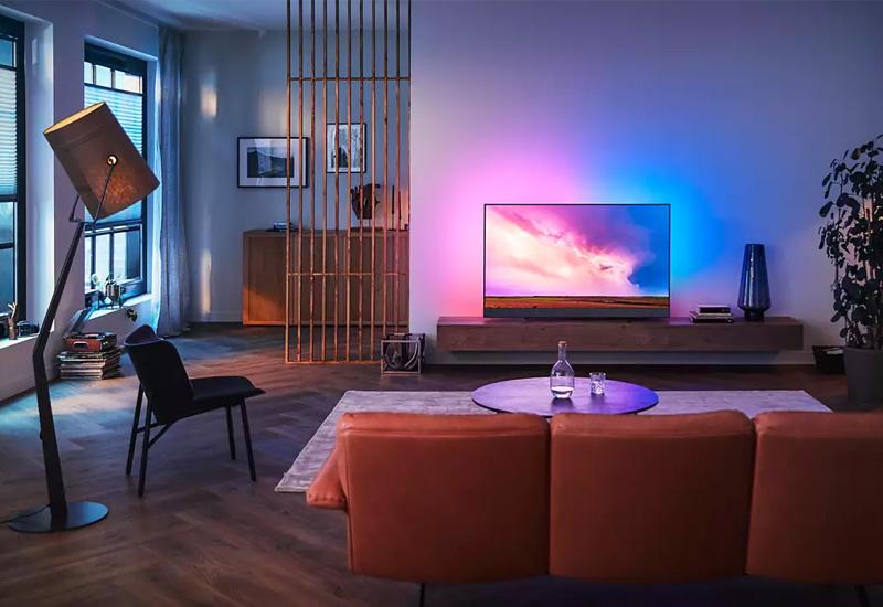 ابعاد تلویزیون