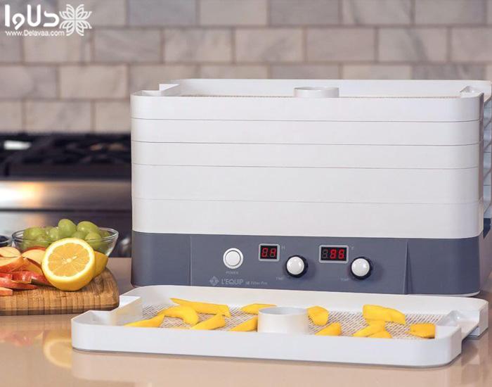توان مصرفی بهترین دستگاه میوه خشک کن