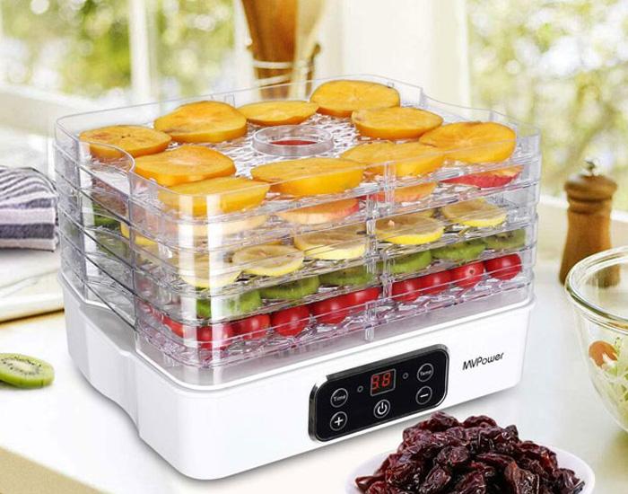 مصرف برق دستگاه میوه خشک کن
