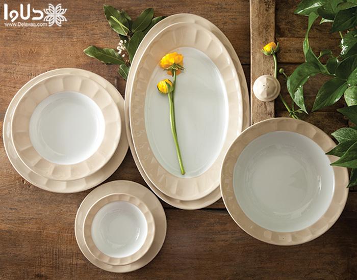 انواع سرویس ظروف پرفروش سری نئوکلاسیک