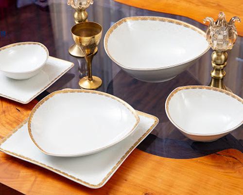 بهترین سرویس غذاخوری تقدیس طرح پرنسس کد  50315-M1