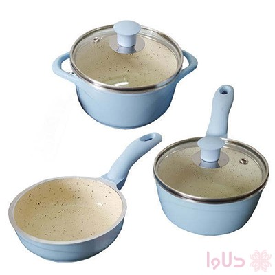 سرویس پخت و پز 5 پارچه عروس کد MD1153