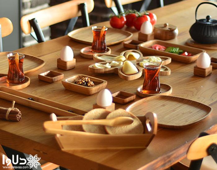 انتخاب رنگ و طرح مناسب سرویس غذاخوری