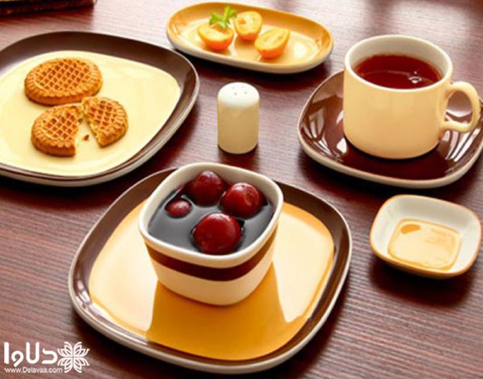 سرویس صبحانه خوری