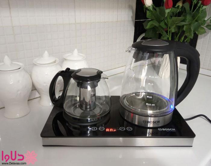 4. وجود صافی در کتری دستگاه چای ساز