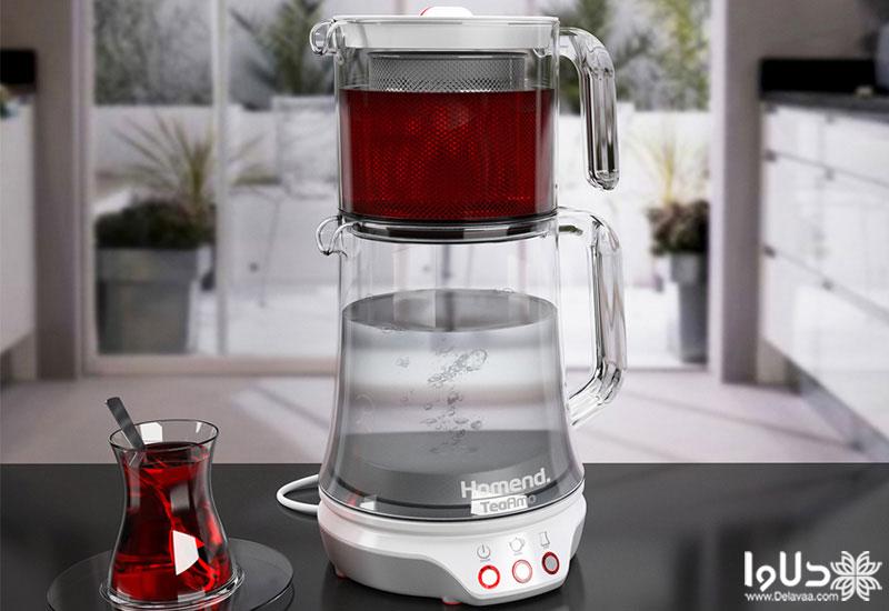 مصرف برقی چای ساز چقدر می باشد ؟